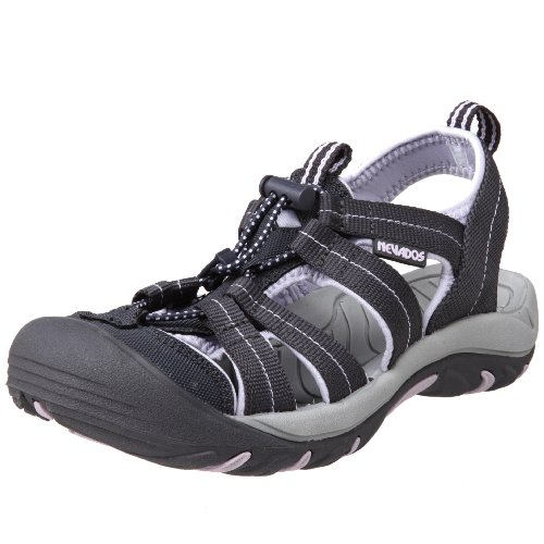 Nevados Women's V6474W Kariba Sandal,Dark Grey/Light Purple,7 M