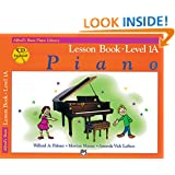 Alfred's Basic Piano Course: Lesson Book, Level 1A [With CD] (Alfred's Basic Piano Library)