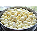 Selected 100 Grams of Natural Raw White Lotus Seed Fill Gas Resting to Restore Energy Spleen and Stomach