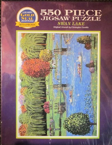 Swan Lake (Original Artwork By Christopher Guishin): 550 Piece Jigsaw Puzzle