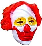 BÖSER CLOWN Latex-Mesh Maske