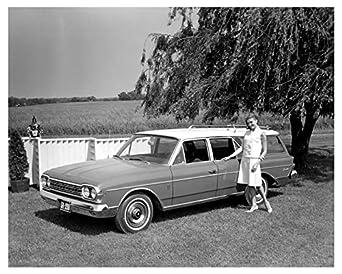 1964 amc rambler ambassador station wagon factory photo at. Black Bedroom Furniture Sets. Home Design Ideas