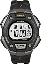 Timex Ironman Men's Quartz Watch with LCD Dial Digital Display and Black Resin Strap - T5K821