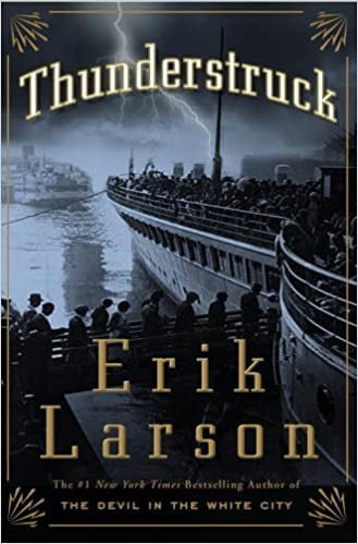Cover image for Thunderstruck by Erik Larson