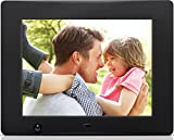 Nixplay 8 inch Wi-Fi Cloud Digital Photo Frame. iPhone & Android App - Email - Facebook - Dropbox - Instagram - Flickr & Picasa - W08A