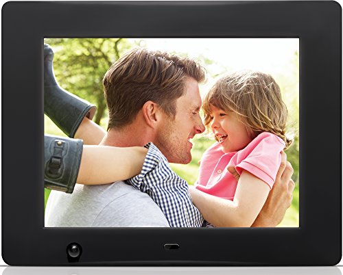 Nixplay 8 inch Wi-Fi Cloud Digital Photo Frame. iPhone & Android App, Email, Facebook, Dropbox, Instagram, Flickr & Picasa - W08A