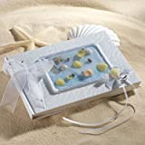 Coastal Mist Wedding Guest Book from Exclusively Weddings