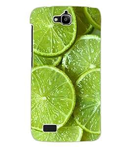 ColourCraft Lemons Design Back Case Cover for HUAWEI HONOR HOLLY
