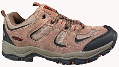Buy Avia Mens Hiking Lo Leather-And-Mesh Outdoor by Avia