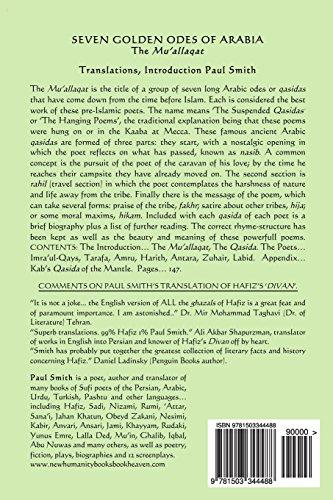 Seven Golden Odes of Arabia: The Mu'allaqat