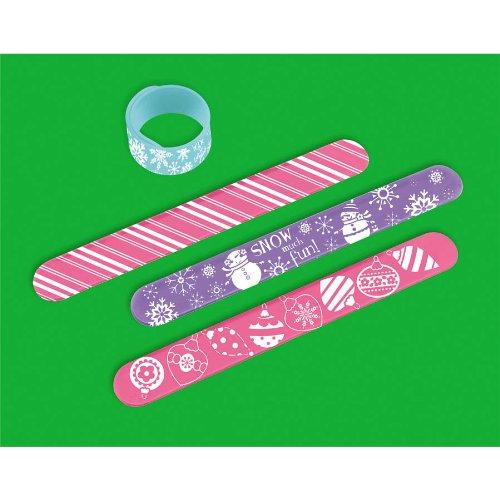 Christmas Slap Bracelets RANDOM - 1