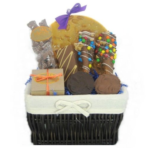 Chocolate and Peanut Butter Lover's Gift Basket