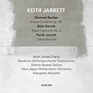Bartok No.3 And Barber Piano Concertos