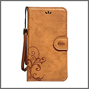 NATURALdesign ナチュラルデザイン iPhone6(4.7インチ対応)専用Smart Cover Notebook iP6TL05 Camel