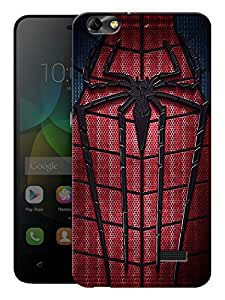 """Humor Gang Spider Pattern Printed Designer Mobile Back Cover For """"Huawei Honor 4C"""" (3D, Matte, Premium Quality Snap On Case)"""