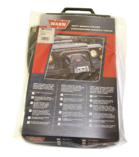 Great Deal! WARN 13918 Soft Winch Cover