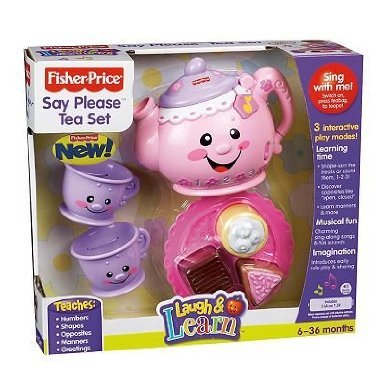 Fisher-Price Laugh And Learn Say Please Tea Set (Ages 6- 36 Months)