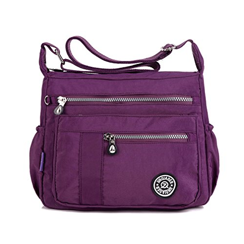 tianhengyi-womens-lightweight-nylon-cross-body-shoulder-bag-casual-messenger-bag-with-zipper-pockets