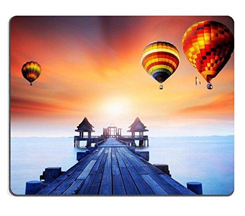 mousepads-orizzontale-paesaggi-motivo-ponte-di-legno-della-porte-tra-sunrise-immagine-id-by-20178618