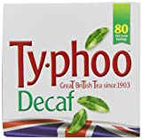 Typhoo Decaf Teabags 250 g (Pack of 6, Total 480 Teabags)