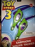 Disney Pixar Toy Story 3 Earphone Walkie Talkies
