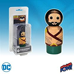 Bif Bang Pow! Batman v Superman Dawn of Justice Aquaman Pin Mate Wooden Figure