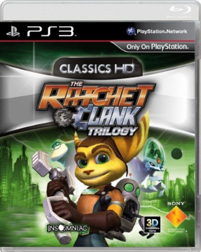 The Ratchet Clank Trilogy Classics HD Collection PS3 Game (English Language) [Asia Pacific Edition]