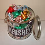 American Hershey kisses gift pot