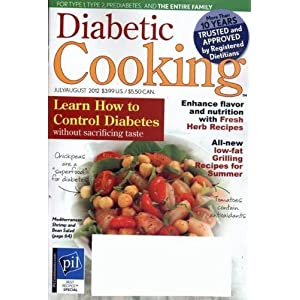 Diabetic Cooking (1-year auto-renewal)