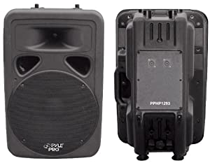 PYLE-PRO PPHP1293 - 800 Watt 12'' Two-Way Plastic Molded Loudspeaker