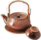 マルヨシ陶器 土瓶むしセット 南蛮織部 M2137