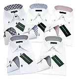 (グリニッジ ポロ クラブ) GREENWICH POLO CLUB ワイシャツ 5枚セット ボタンダウン 白 pb M-ゆったりレギュラー