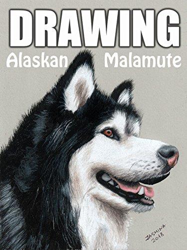 Clip: Drawing Alaskan Malamute on Amazon Prime Video UK