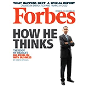 Forbes, September 13, 2010 Periodical