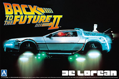 Aoshima Models Delorean from Back to the Future II Building Kit (Delorean Model Kit compare prices)