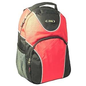 jeep venture 19 18 43 9 cm ordinateur portable voyage sac dos sac dos bagages sac rouge. Black Bedroom Furniture Sets. Home Design Ideas