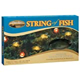 Keystone Products String of Fish Christmas Lights