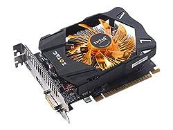 ZOTAC GeForce GTX 750 Ti 2GB (DP-version, G-Sync) Graphics Card (Black/Orange)