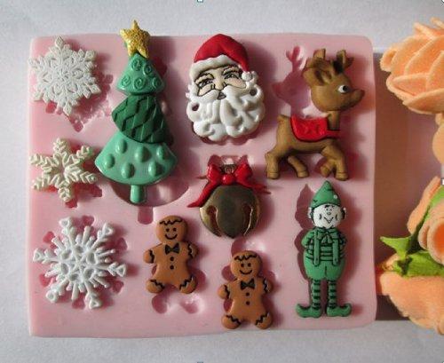 Wilton 100 Mini PIROTTINI Pupazzo di Neve Cake Design Pasta di Zucchero Natale