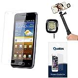 Qualitas Matte Screen Protector For Karbonn Titanium S200 HD + 3.5mm Continuous LED Spotlight Flash
