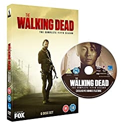 The Walking Dead - Season 5 with Bonus Disc (Amazon.co.uk Exclusive Limited Edition) [DVD] [2015]