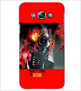 PrintDhaba Quote D-5944 Back Case Cover for SAMSUNG GALAXY A8 (Multi-Coloured)