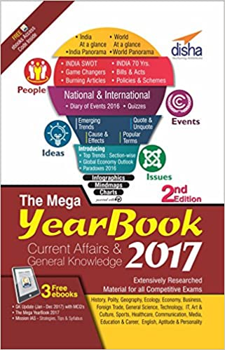 The Mega Yearbook 2017 - Current Affairs & General Knowledge for Competitive Exams Free PDF Download, Read Ebook Online