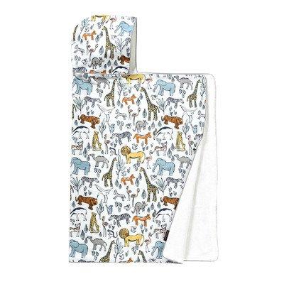 DwellStudio Hooded Towel, Safari - 1