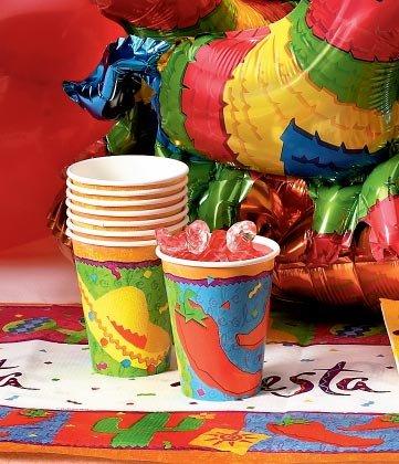 Fiesta Paper Cups 8ct - 1