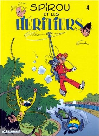 Spirou et Fantasio n° 4 Spirou et les héritiers