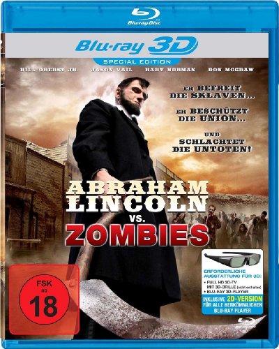 Abraham Lincoln vs. Zombies 3D [Alemania] [Blu-ray]
