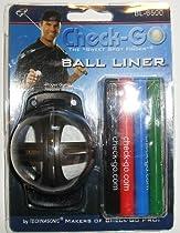 Check-Go Golf Ball Liner w/4 Colors & Check-Go Pens NEW