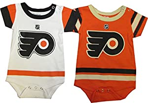 Philadelphia Flyers 3-6 Months 2pc Creeper Set Baby Infant Alt Away