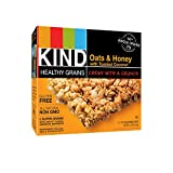 KIND Healthy Grains Granola Bars, Oats & Honey with Toasted Coconut, 1.2oz Bars, 5 Count (Pack of 3)
